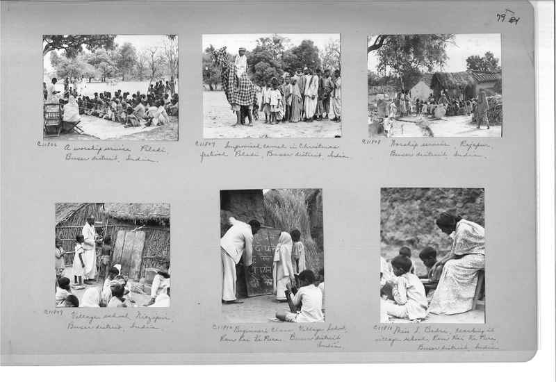 Mission Photograph Album - India #14 Page 0079