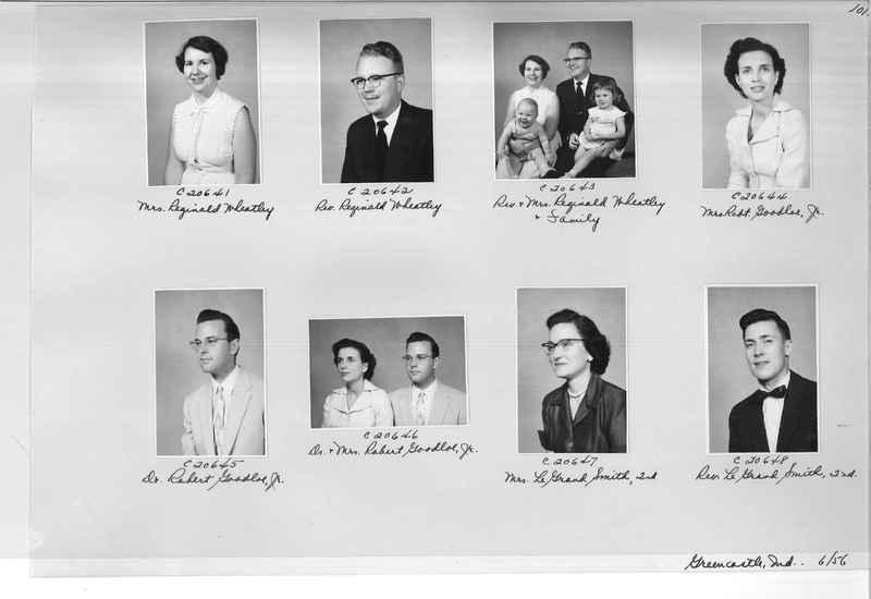 Mission Photograph Album - Portraits #09 Page 0101