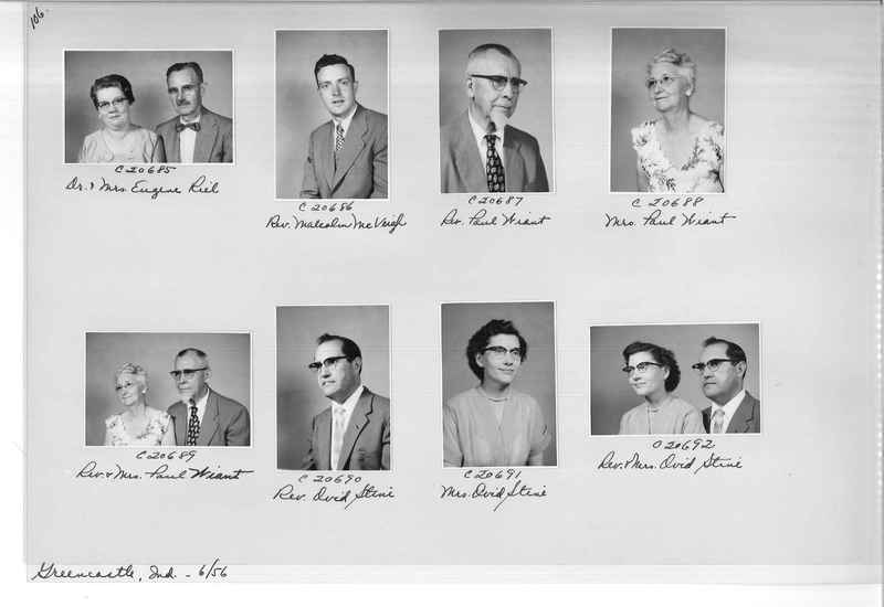 Mission Photograph Album - Portraits #09 Page 0106