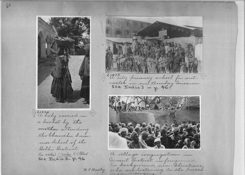 Mission Photograph Album - India - O.P. #02 Page 0060