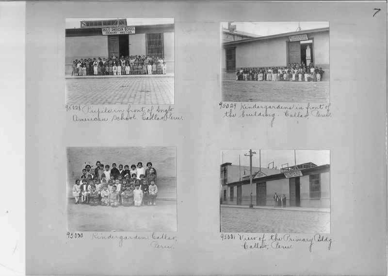 Misson Photograph Album - South America #8 page 0007