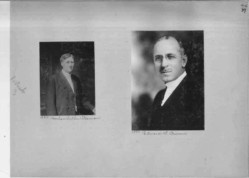 Mission Photograph Album - Portraits #3 page 0037