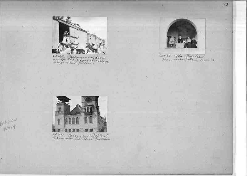 Mission Photograph Album - Mexico #04 page 0013