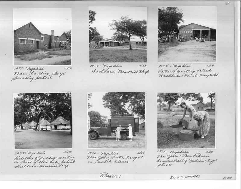 Mission Photograph Album - Africa #17 page 0061