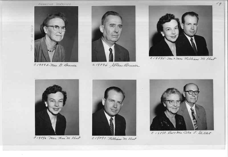 Mission Photograph Album - Portraits #09 Page 0019