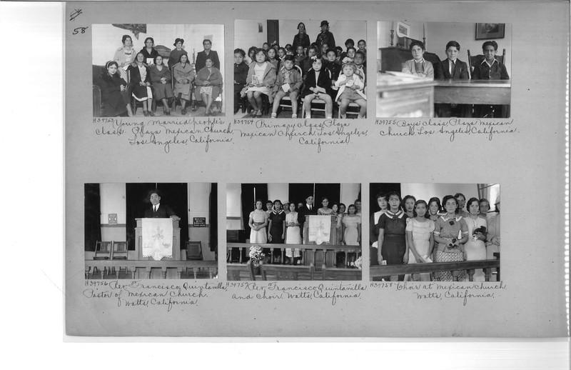 Mission Photograph Album - Latin America #2 page 0058