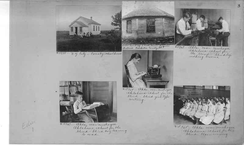 Mission Photograph Album - Education #1 page 0003