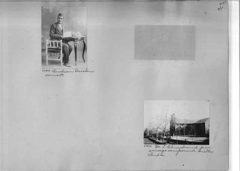 Mission Photograph Album - India #08 Page 0041