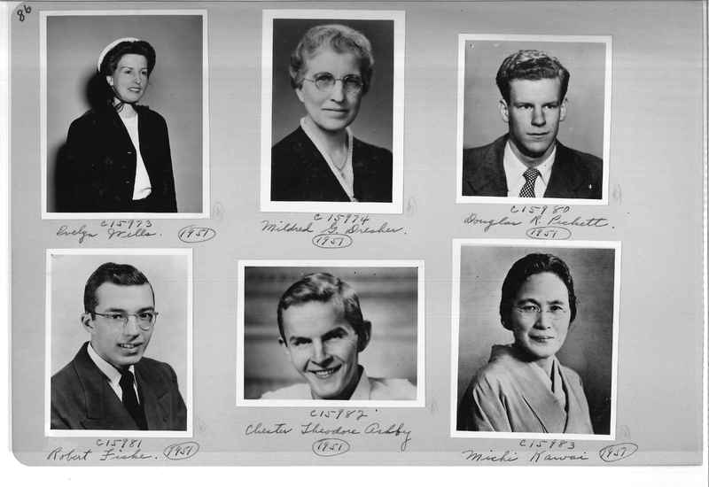 Mission Photograph Album - Portraits #07 Page 0086