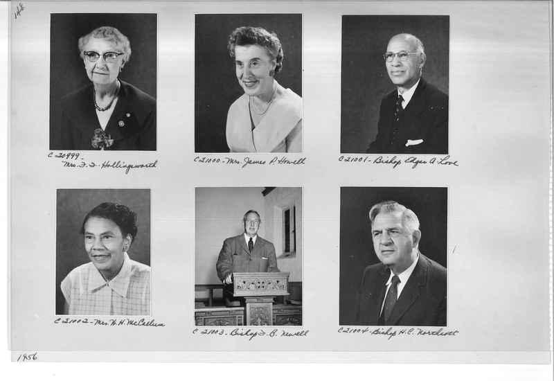 Mission Photograph Album - Portraits #09 Page 0148