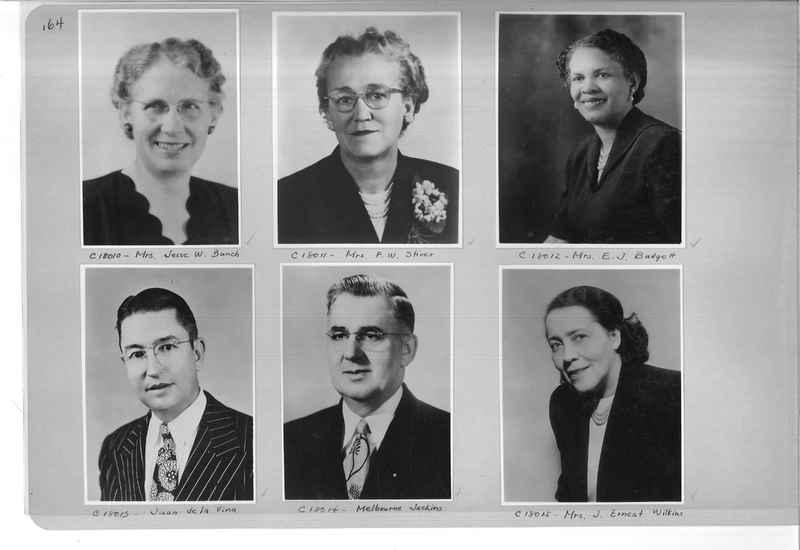 Mission Photograph Album - Portraits #07 Page 0164