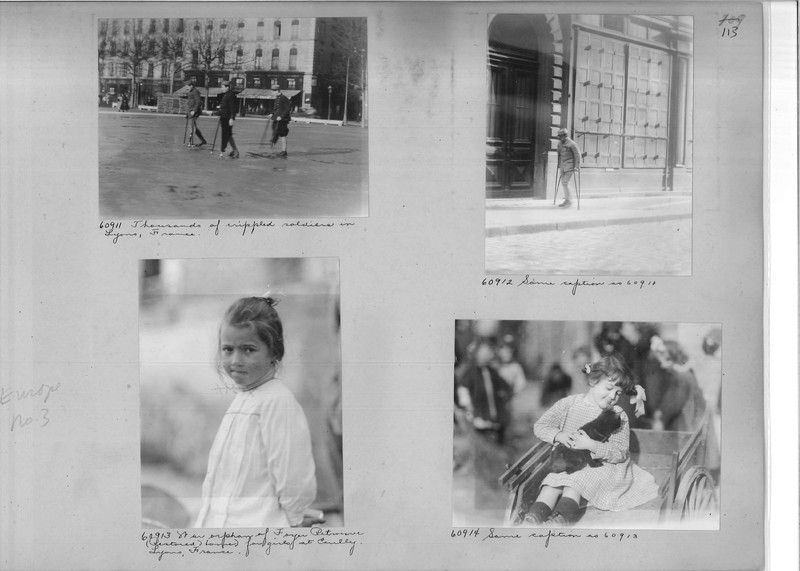 Mission Photograph Album - Europe #03 Page 0113