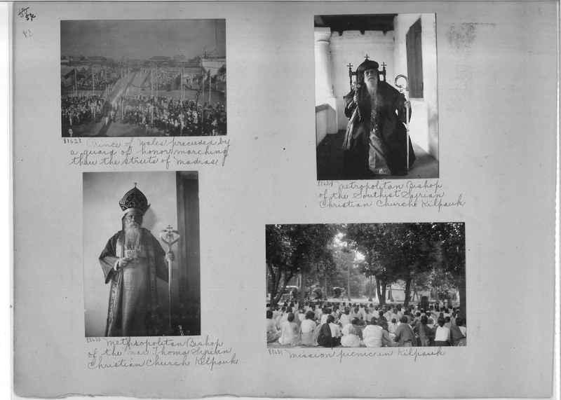 Mission Photograph Album - India #10 Page 0054