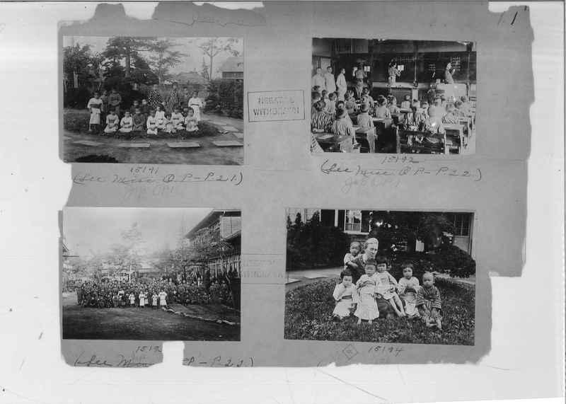 Mission Photograph Album - Japan #02 Page 0001