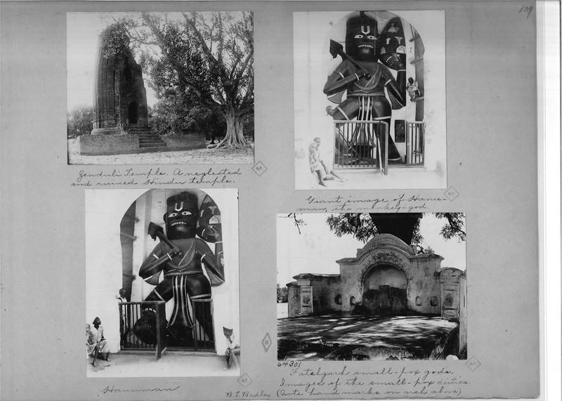 Mission Photograph Album - India - O.P. #02 Page 0109