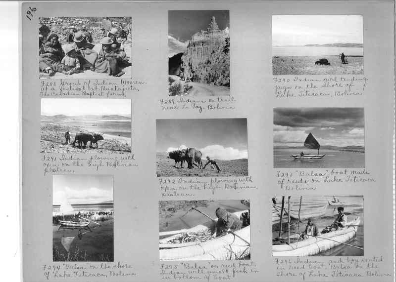 Misson Photograph Album - South America #8 page 0196