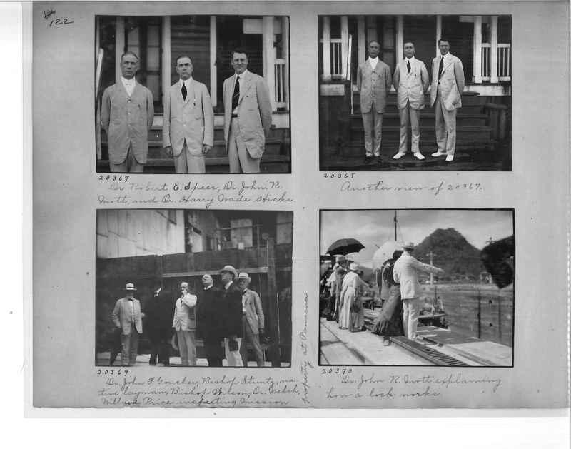 Mission Photograph Album - Panama #1 page  0122