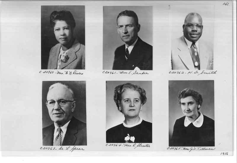 Mission Photograph Album - Portraits #09 Page 0141