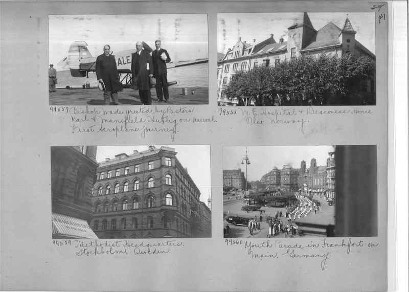 Mission Photograph Album - Europe #09 Page 0041