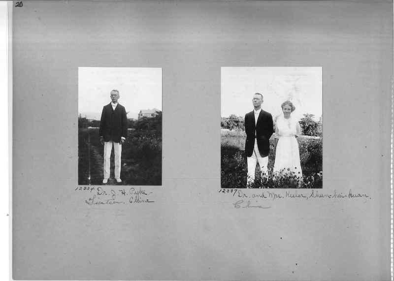Mission Photograph Album - Portraits #1 page 0020