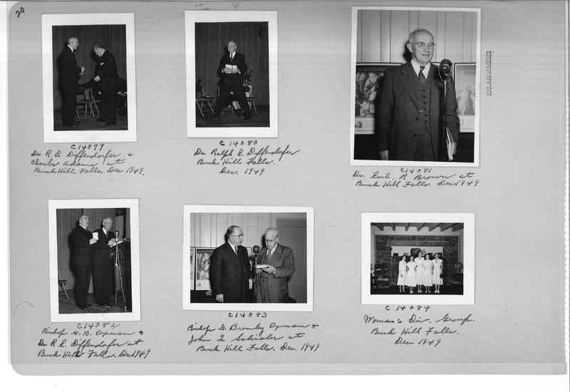 Mission Photograph Album - Portraits #07 Page 0020