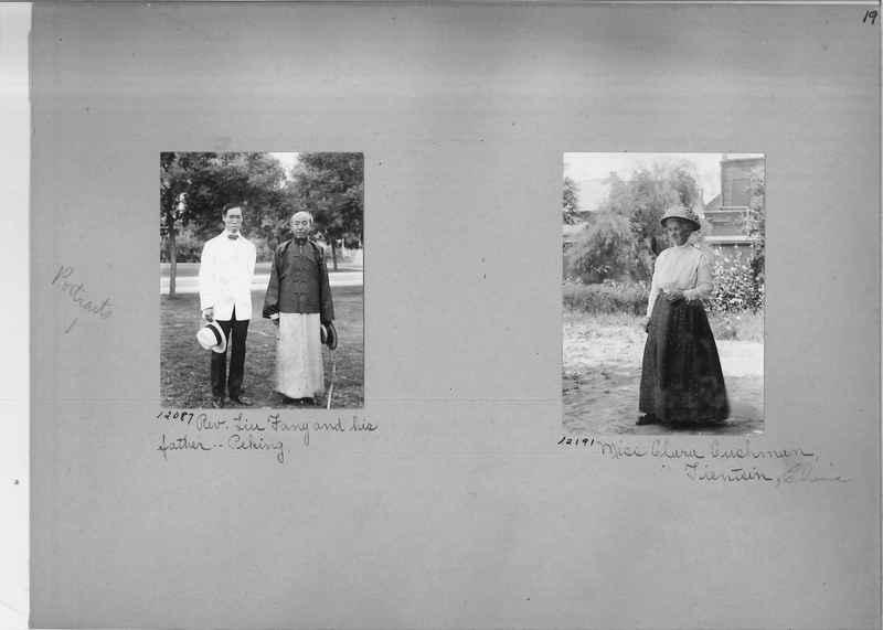 Mission Photograph Album - Portraits #1 page 0019