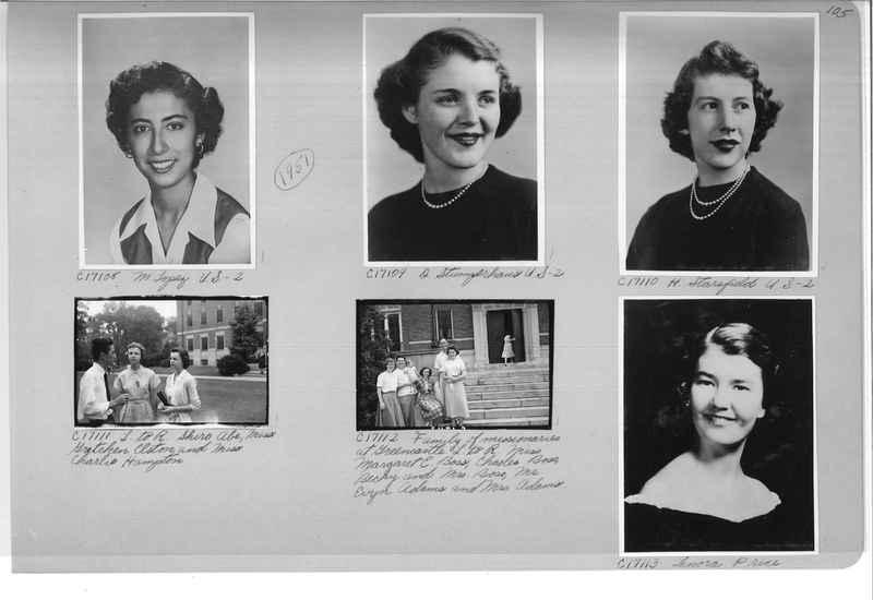 Mission Photograph Album - Portraits #07 Page 0105