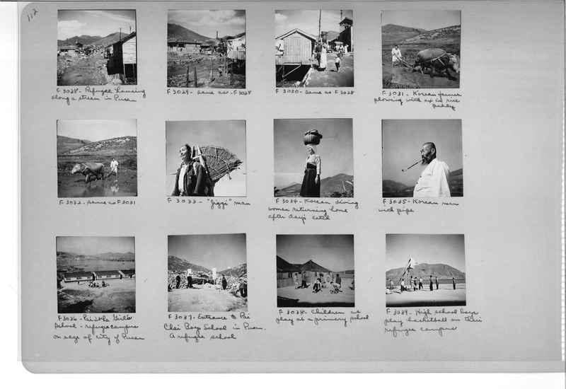 Mission Photograph Album - Korea #6 page 0112