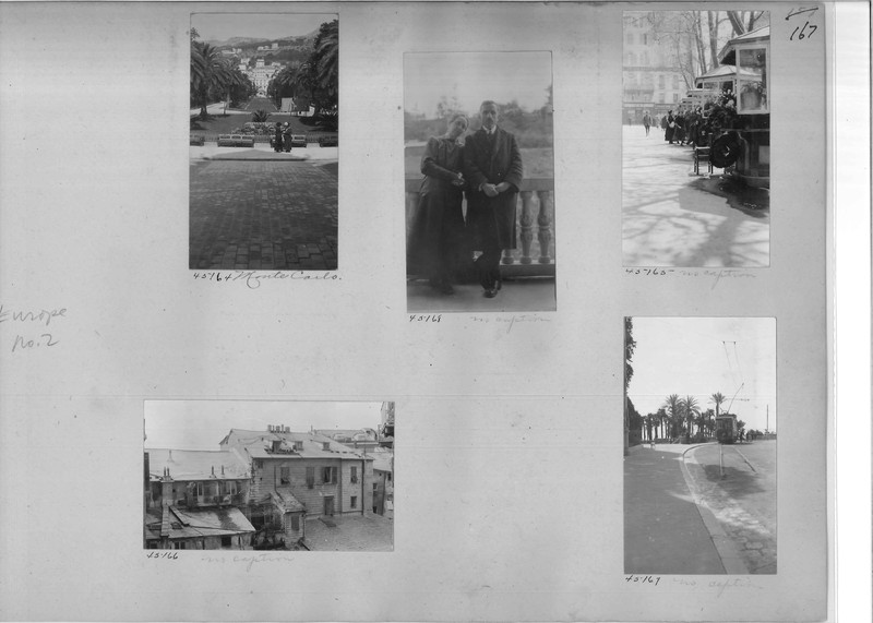 Mission Photograph Album - Europe #02 Page 0167