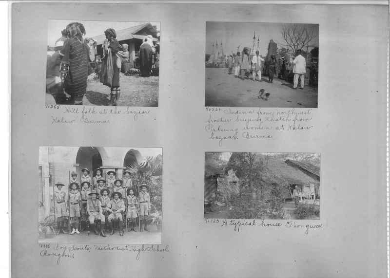 Mission Photograph Album - Burma #2 page 0016
