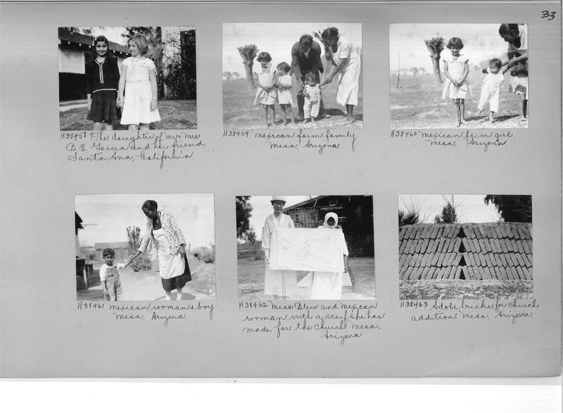 Mission Photograph Album - Latin America #2 page 0033