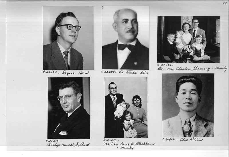 Mission Photograph Album - Portraits #09 Page 0085