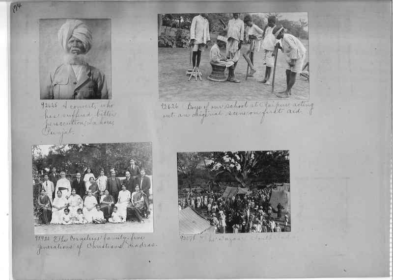 Mission Photograph Album - India #10 Page 0174