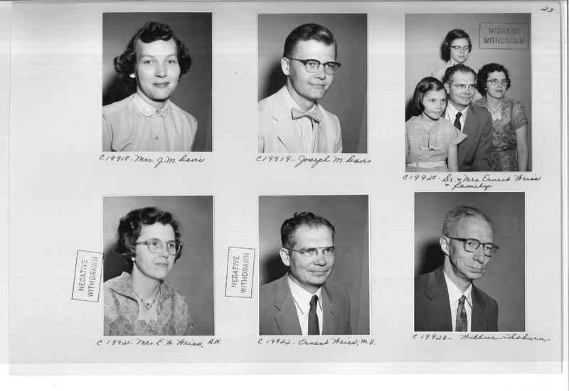 Mission Photograph Album - Portraits #09 Page 0023