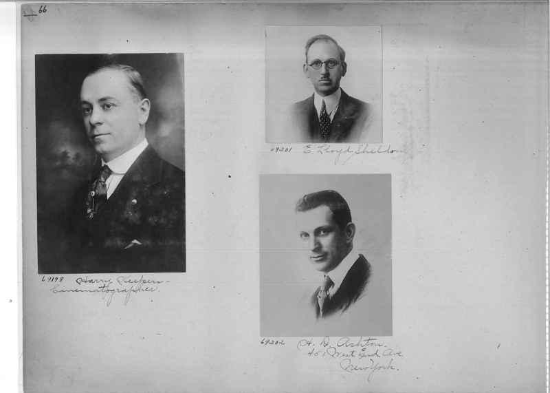 Mission Photograph Album - Portraits #3 page 0066
