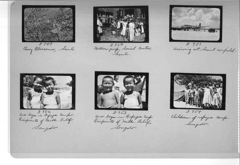 Mission Photograph Album - Korea #6 page 0016