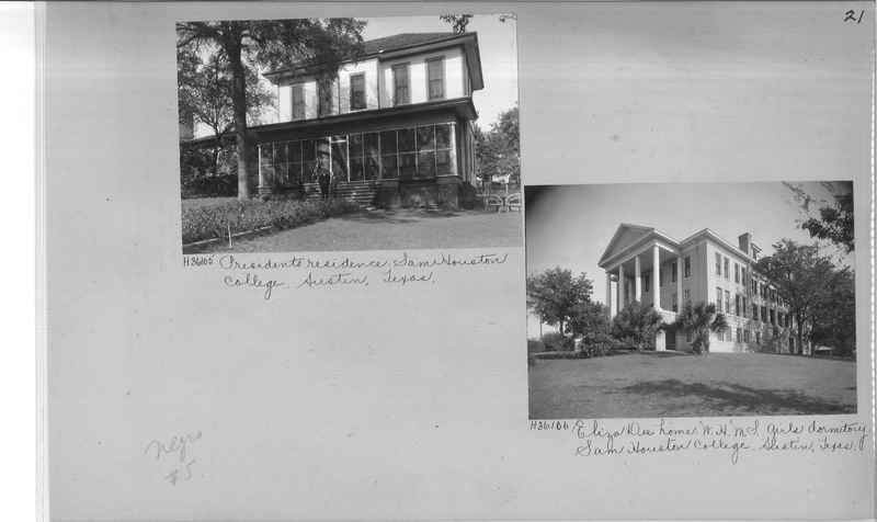 Mission Photograph Album - Negro #5 page 0021