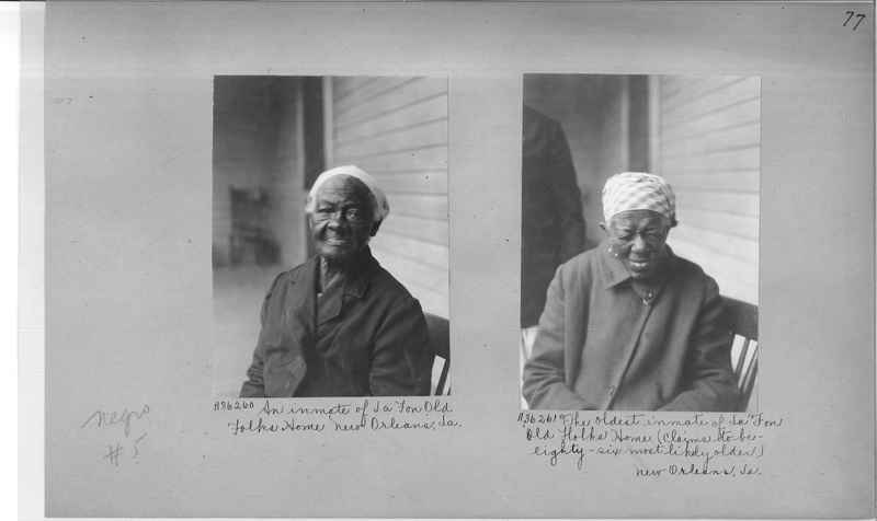 Mission Photograph Album - Negro #5 page 0077