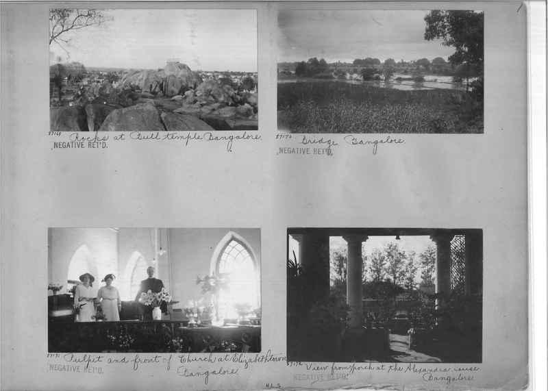 Mission Photograph Album - India #10 Page 0001