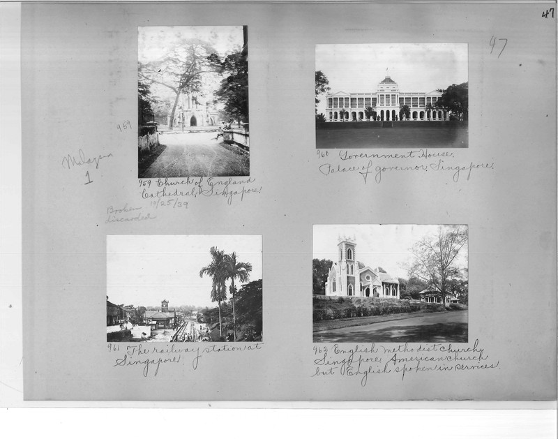 Mission Photograph Album - Malaysia #1 page 0047