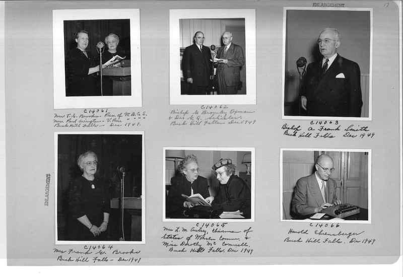 Mission Photograph Album - Portraits #07 Page 0017