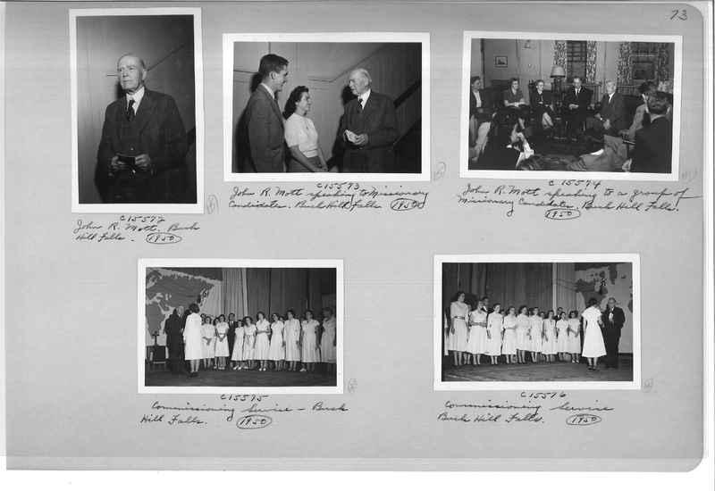 Mission Photograph Album - Portraits #07 Page 0073