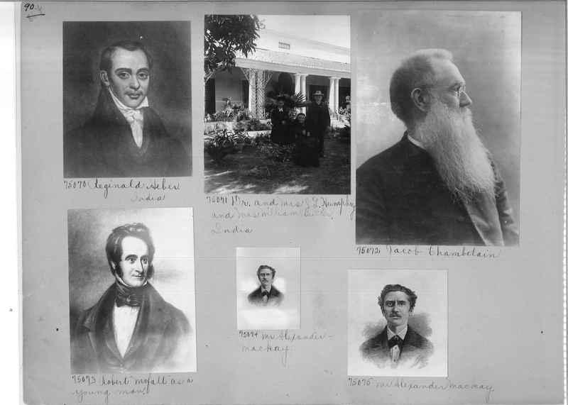 Mission Photograph Album - Portraits #3 page 0090