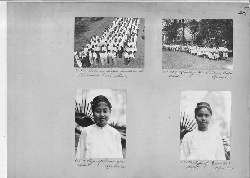 Mission Photograph Album - Burma #1 page 0219