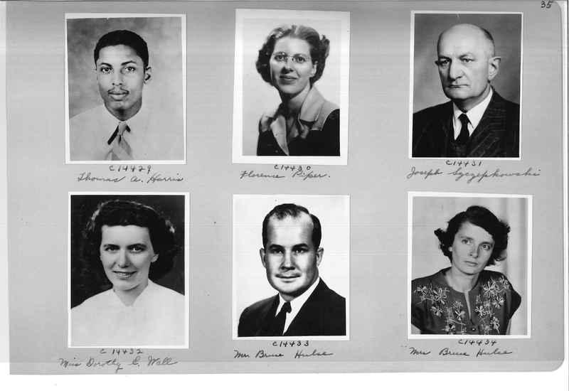 Mission Photograph Album - Portraits #07 Page 0035