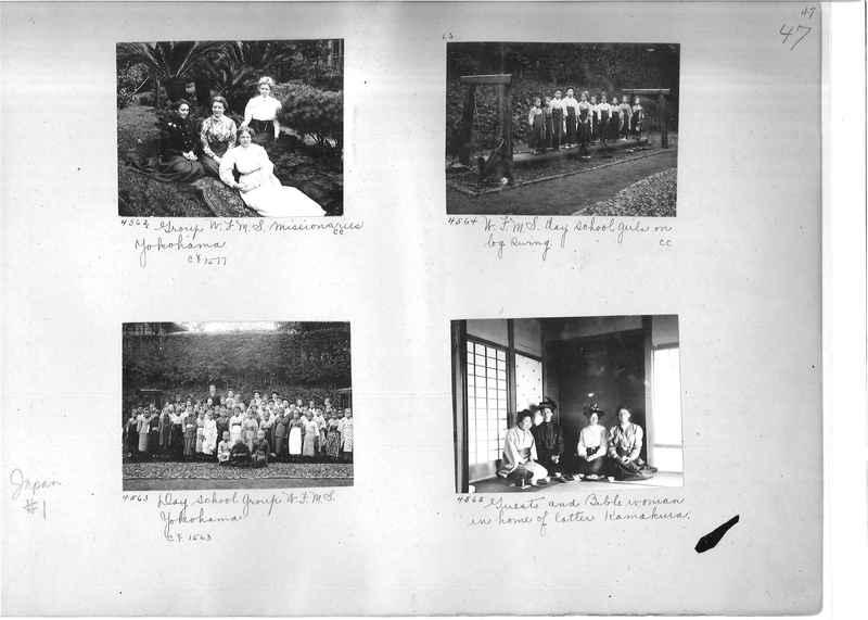 Mission Photograph Album -  Japan #01 Page 0047