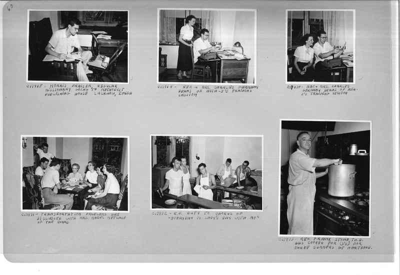 Mission Photograph Album - Portraits #13 Page 0060