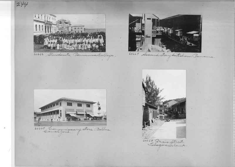 Mission Photograph Album - Panama #02 page 0244