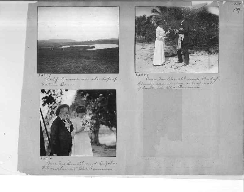 Mission Photograph Album - Panama #1 page  0109