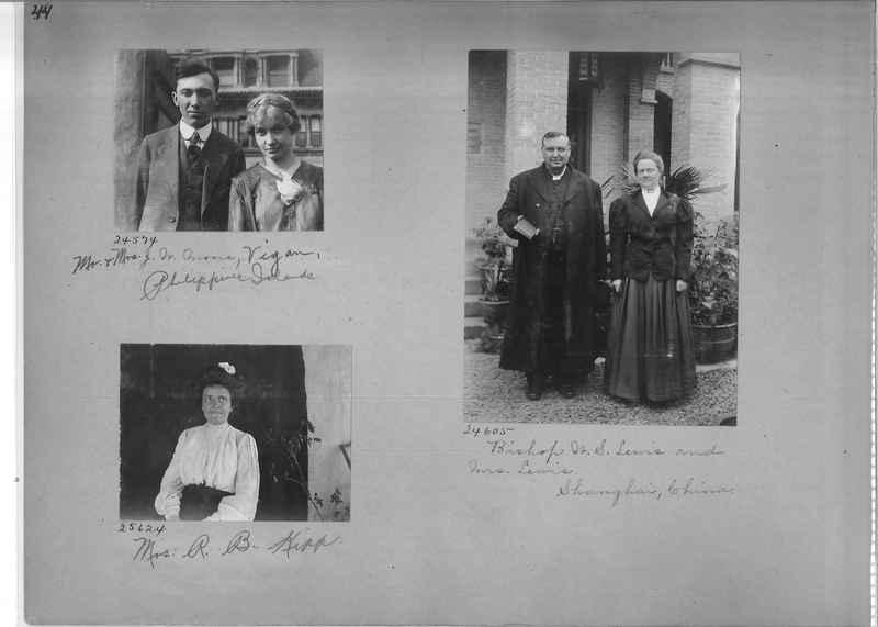 Mission Photograph Album - Portraits #1 page 0044